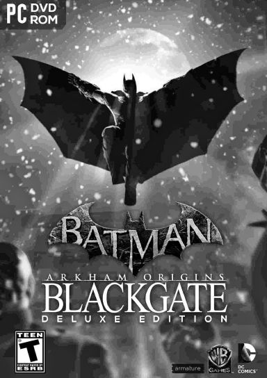 Batman Arkham Origins Blackgate Deluxe Edition Free Download