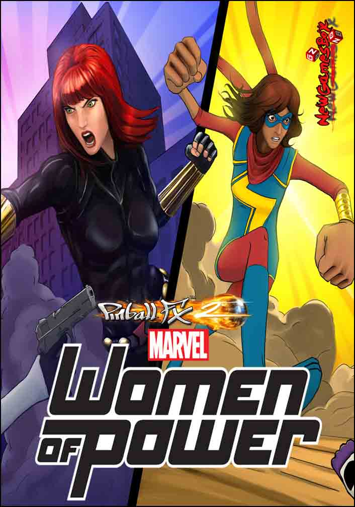 Pinball FX2 Marvels Women of Power Free Download Setup