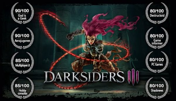 Darksiders 3 Free Download Full Version PC Game Setup