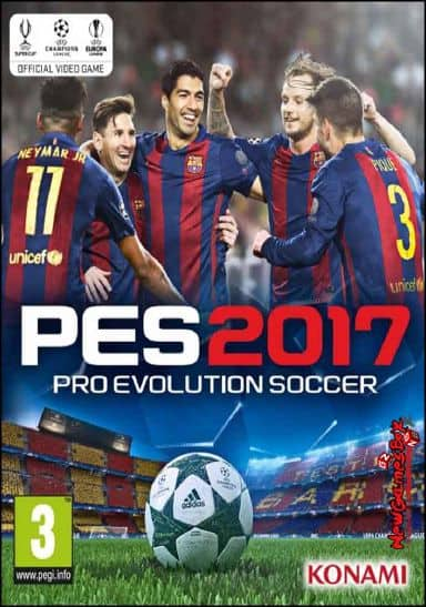 Pro Evolution Soccer 2017 Free Download Full PC Game setup