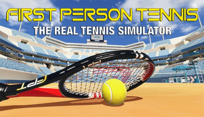 First Person Tennis The Real Tennis Simulator Free Download Full Version PC Game