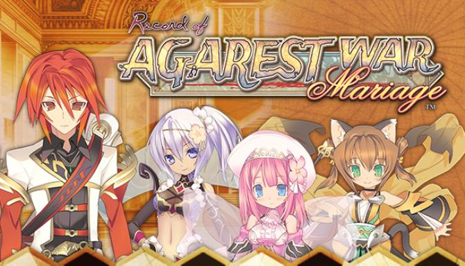 Record of Agarest War Mariage Free Download PC Game