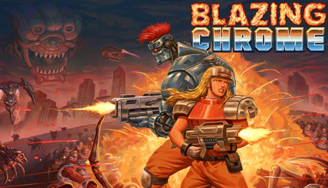 Blazing Chrome Free Download Full Version PC Game Setup